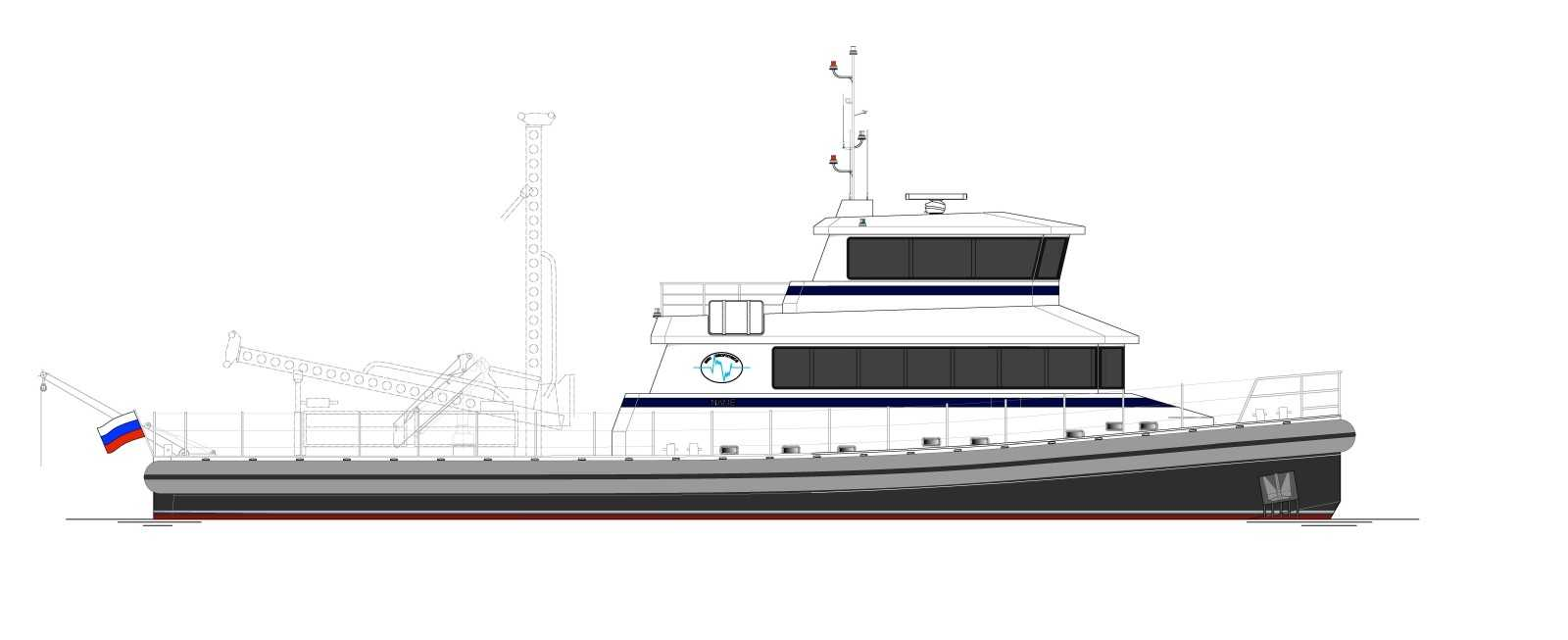 D95 - General Plan | Next Generation Shipyards